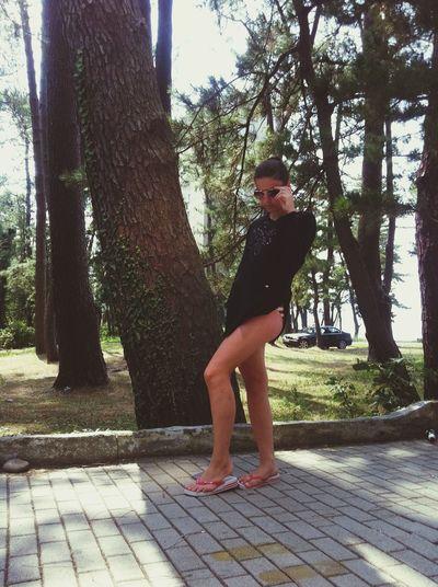 Black Sea Enjoying Life Suny Day Summertime