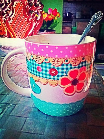 colorful mug that will brighten your day!.