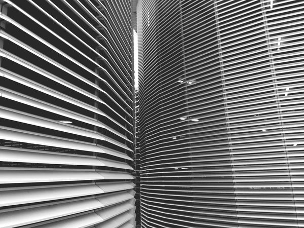 Parkhaus Messe München Riem, Architektur, Streifen, Textur, Wiederholung, Monotonie, Aluminium Recycling Technology Car Parking Area Parking Area Pattern Full Frame No People Backgrounds Built Structure Day Architecture In A Row Corrugated Repetition Metal Textured  Blinds Silver Colored