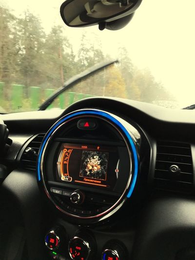 Car Vehicle Interior Car Interior Transportation Land Vehicle Dashboard Mode Of Transport Steering Wheel Windshield Speedometer Windscreen Travel Driving Car Point Of View Technology Day Road Tree No People Gauge Mujuice Music