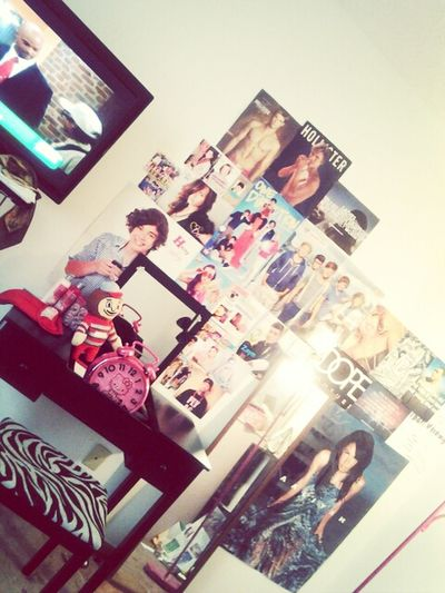 Just getting started , But my wall soo far (: