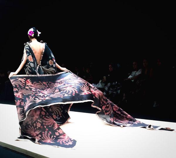 The grandeur finale Edwardhutabarat Batik on Silk