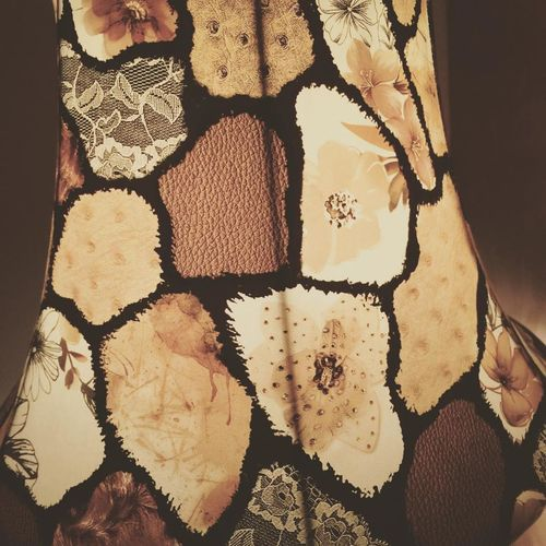 Backgrounds Brown Indoors  Lampshades Pattern Yellow First Eyeem Photo