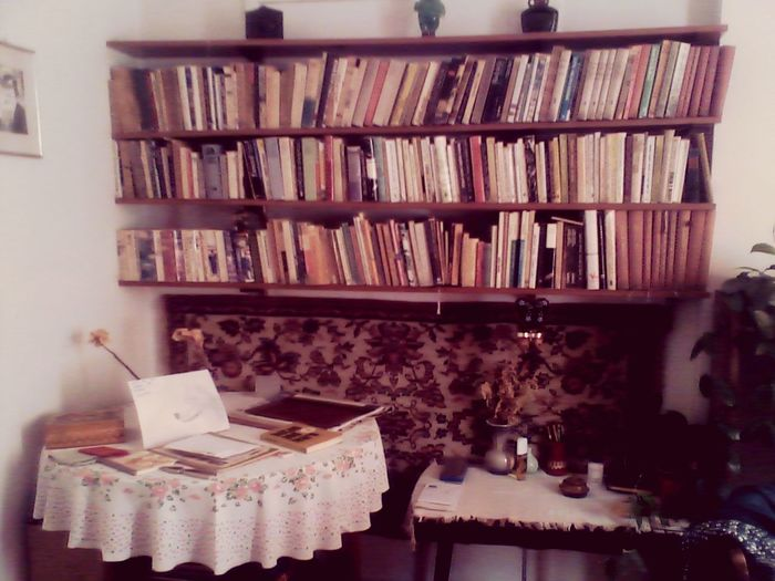 Old Room  Old Books Old Furniture Past Life Past Time Previous Years Comfort Cosy