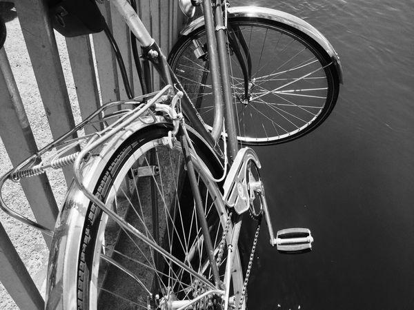 Blackandwhite Bicycle Flying High EyeEmSwiss