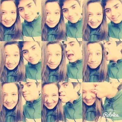 Con el ridículo que más amo en este mundo *--*' ♥ te amo mucho mi pedrito eres el amor de mi vida ♥♥♥♥♥