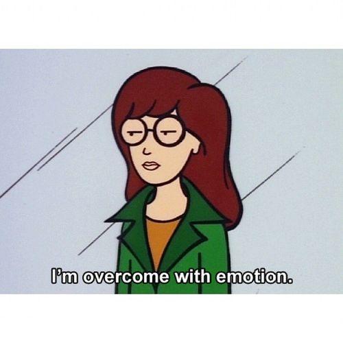 'Estoy abrumada por la emoción' Daria Cute Cool Alwaysright Laposta .