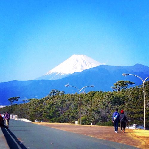My.Fuji from Numadu. Mt.Fuji Power Spot