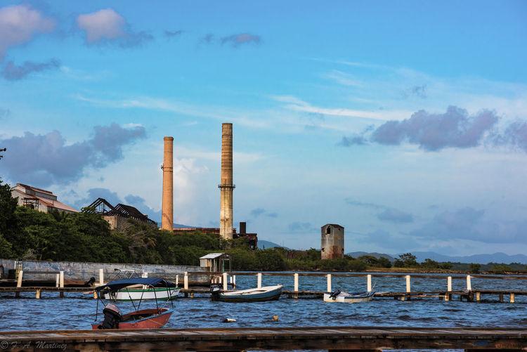 Memories. Todo pasa y todo queda. Central Aguirre El Muelle Pier Sugarcane Mill Abandoned Factory No People Sky