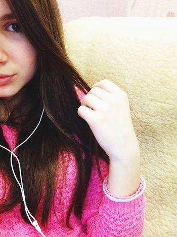 Половинкалица красотуля люблюсебя серьезнаядевочка нравитсяФото Music Is My Life Lips #love #smile #pink #cute #pretty Blueeyesgirl Hairstyle Lovely