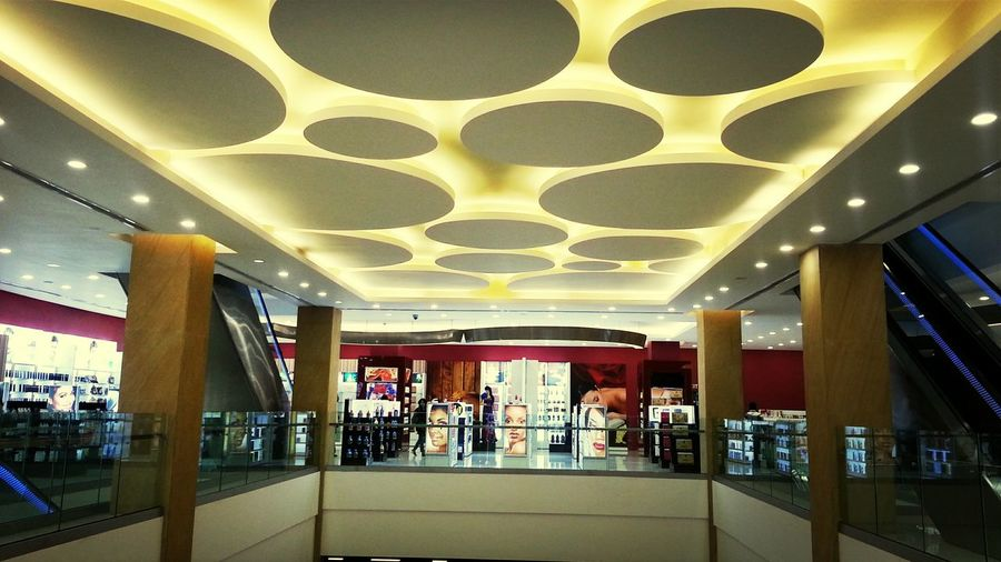 Shopping Mall Architecture Cealing Design