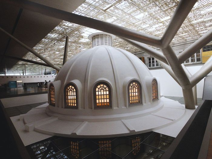 Dome ceiling Art Gallery Architecture Built Structure Indoors  Building Belief No People Dome History Window Arch Travel Destinations Ceiling Tourism Travel Architectural Column