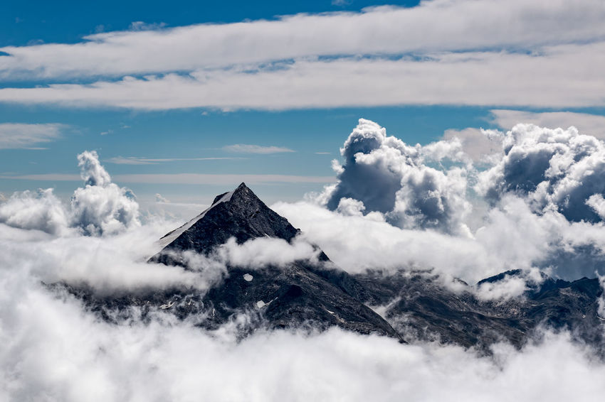 Above the Clouds Above The Clouds Beauty In Nature Cloud Cloud - Sky Cloudscape Cumulus Cloud Drama Dramatic Sky High Up Ice Landscape Majestic Mittelallalin Mountain Mountain Peak Mountain Range Nature Physical Geography Saas Fee Sky Snow Snow Covered Switzerland Tranquility Valais