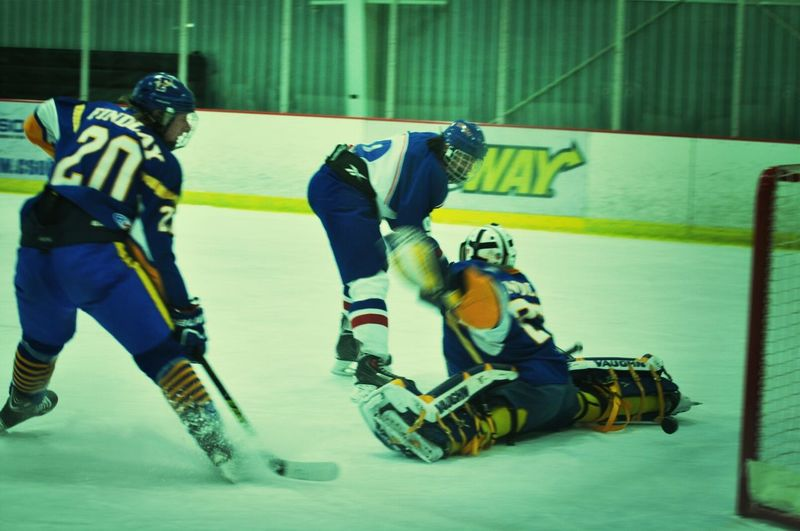 1st goal of the Sfs vs Findlay quarterfinal game #rkwapich #proud First Eyeem Photo