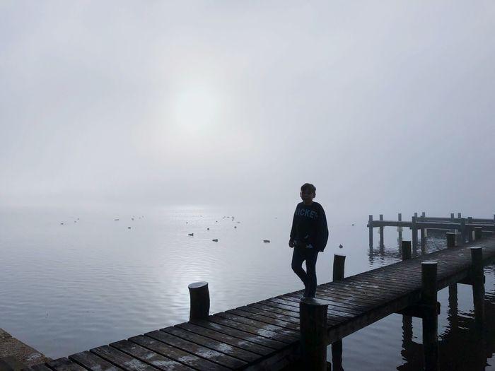Fog Chiemsee