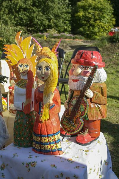 Autumn KAZIMIERZ DOLNY Kazimierz Dolny Nad Wisłą Market Art And Craft Craft Creativity Day Fair Female Likeness Festival Figurine  Folklore Handicraft Hanmade Human Representation No People Outdoors Sculpture Statue Toy