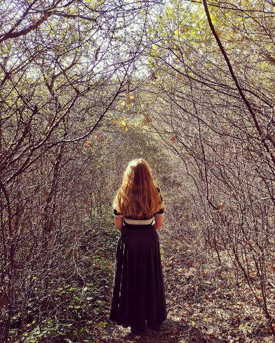 Wilderness Nature Walk Walking Alone Solitude Art Women Posing Friend Female Alone