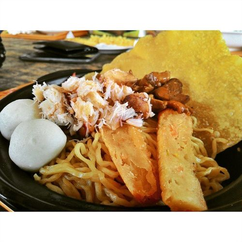 Food Mie Pontianak Kepiting Instagfood Asuszenfone Zenfone Ahpoong Delicious