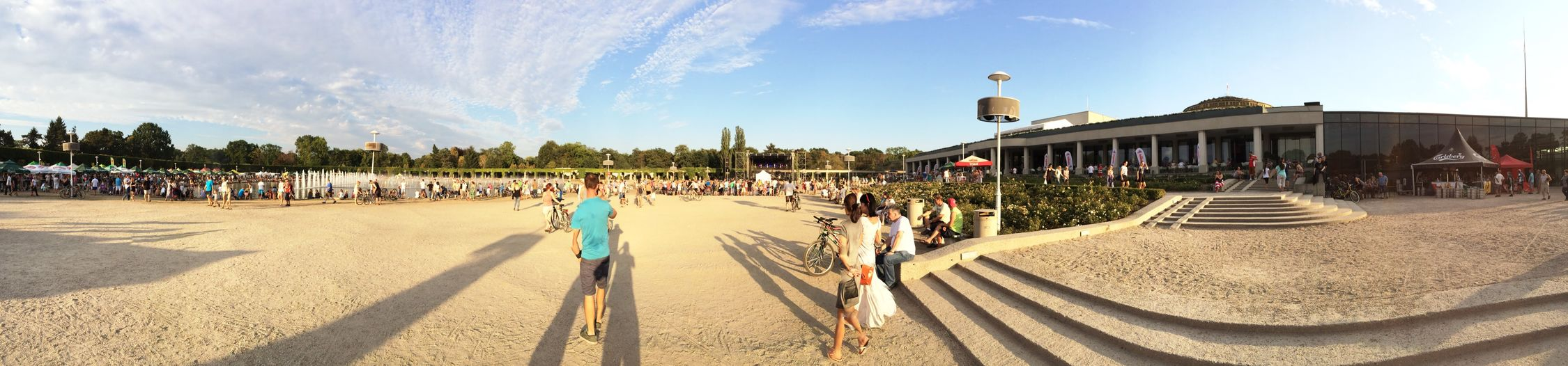 Beautiful large view Pergola Wroclaw, Poland Pergola Urbanphotography Panoramic Photography