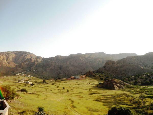 Morocco Beautiful Nature Greenery Montain  Landscape Light Sousse Amazigh Tafraout Idaougnidif