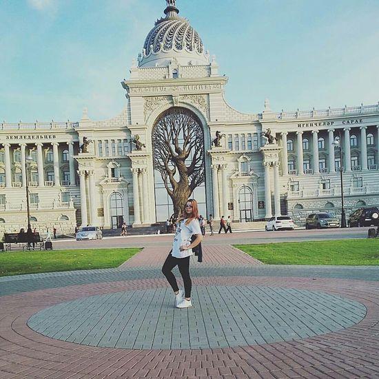 Дворец Земледелия. Казань, Татарстан - Россия