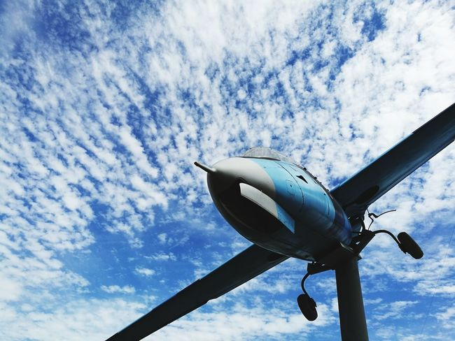 Airplane Cloud - Sky Air Vehicle Sky Cloudscape Flying Aircraft Wing Technology Commercial Airplane Space Low Angle View Aerospace Industry Jet Engine No People Day Nature Outdoors Plane Fighter Plane