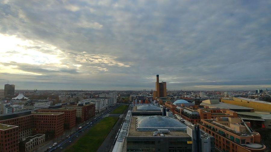 Von oben Berlin