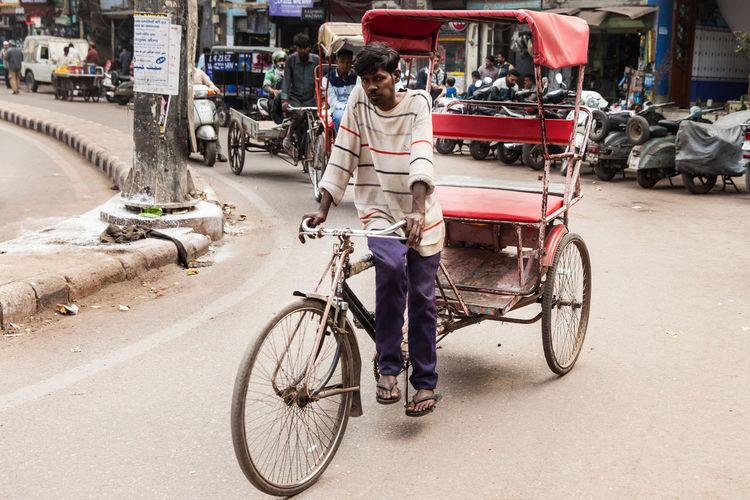 Hindu Hinduism India Indian Car Indian Street New Delhi,india Indian Man Indian Transport Old Delhi Rickshaw