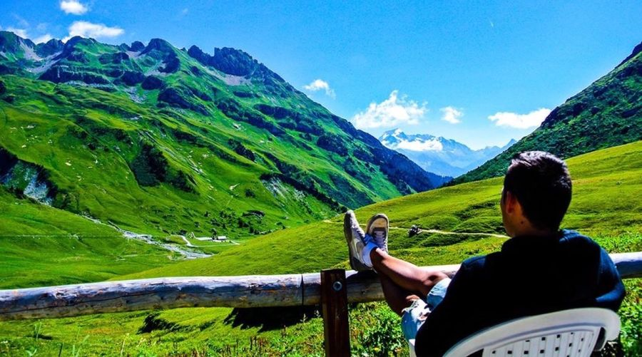 Rest facing a beautiful view ... Mint By Motorola RePicture Travel The Traveler - 2015 EyeEm Awards Share Your Adventure