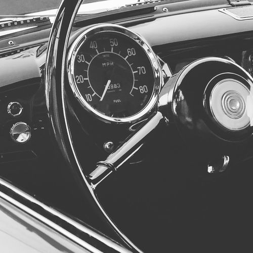 Car Old-fashioned Retro Styled Transportation Dashboard Car Interior Speedometer Close-up Newest Talent The Week Of Eyeem Best Photos Streetphotography Somergefühle Jj_community New Talents EyeEm Best Shots Transportation Vehicle Part