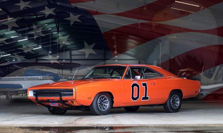 Car Transportation Indoors  Mode Of Transport Orange Dodge Charger Dodgecharger America Muscle