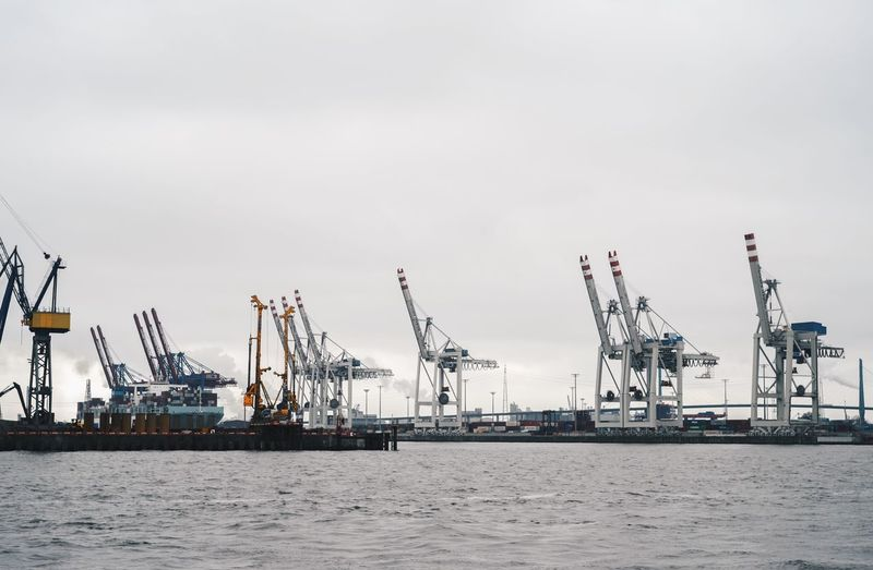Container Port Container Ship Industry Trade