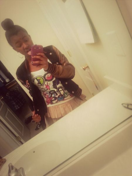 Me Happy Love Cute Skirt Swagg #OldPicture Bun Nothin Can't Tell