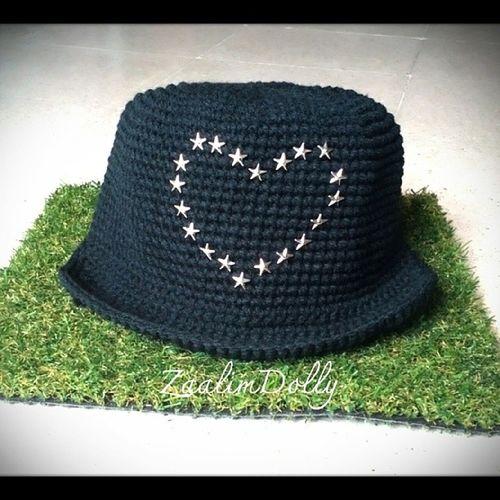 หมวก หมวกไหมพรม Hat Crochet handmade zaalimdolly @line: itsy-bitsy