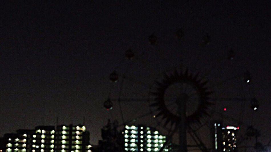 Night Nightphotography Light Amusementpark Nightamusementpark Ferris Wheel 観覧車 真夜中遊園地 遊園地