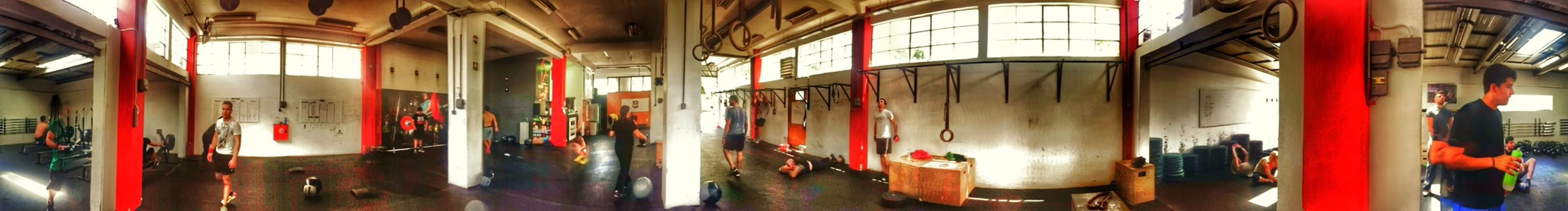 Crossfit Working Hard to keep fit