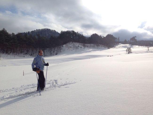 Nordic skiing...