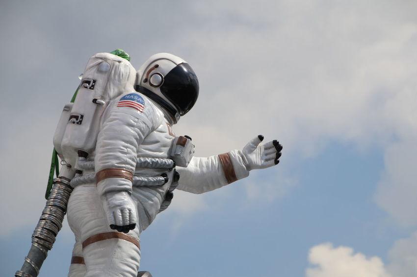 People Space Exploration Day Space Outdoors Sky Adult Futuristic One Person Crangerkirmes Crange  Cranger Kirmes  Herne