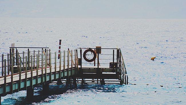 Israel Mer Sea Ponton Pont