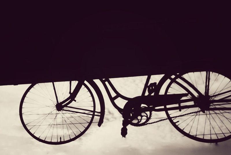 Bicycle Mode Of Transport Stationary EyeEm Wheel Transportation Spoke Land Vehicle Day No People Tire Sky EyeEmNewHere
