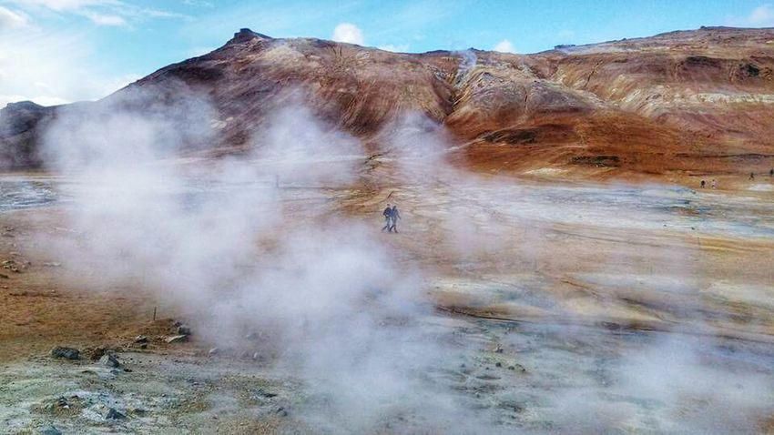 Iceland Highland Thermal Geothermal Area