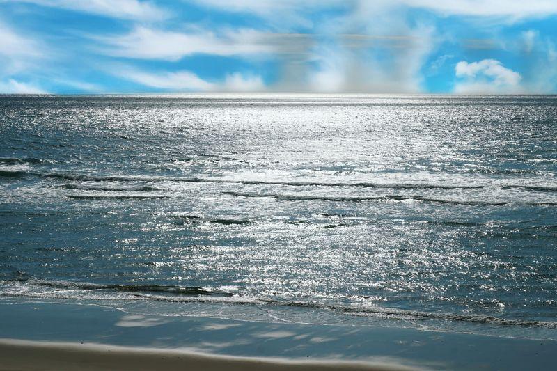 Dune Du Pyla Sea And Sky Beach View