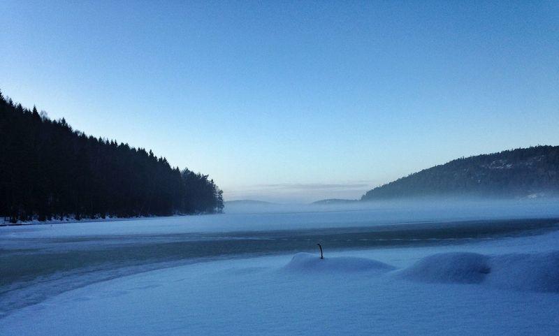 Ice Snow Landscape Winter