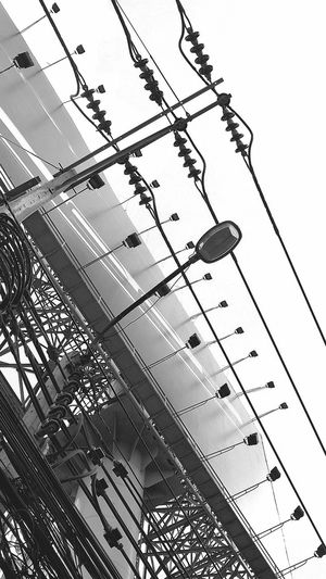 Electricity  Power Supply Electricity Pylon Outdoors Power Line  Connection Sky Bangkok, Thailand