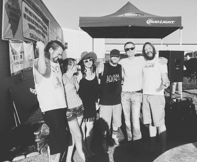 Love my band! Parole Denied Band Music Bands Musician Music Is Life Guitar Player Guitarist Singer  Musicians New Music Live Music Oregon Enjoying Life That's Me Playing Music LiveMusic Tattooed Tattoos Show Concert Guitar Vocalist Be Yourself