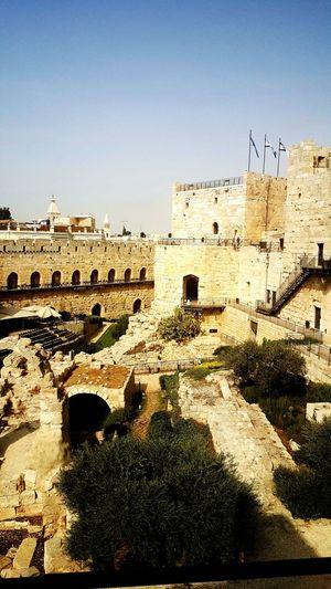Israel Castle Jerusalem Old History