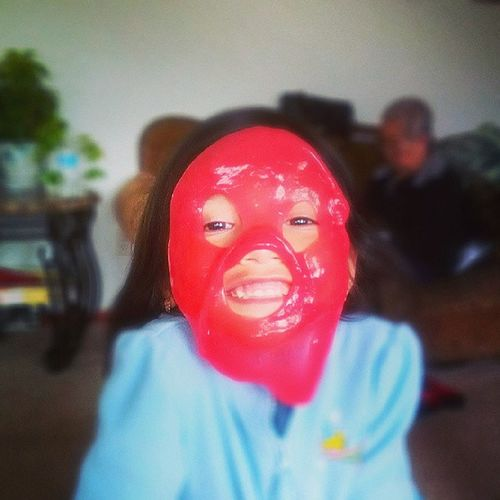 Noisyputty Putty Mask Sillygirl toofunny loveher