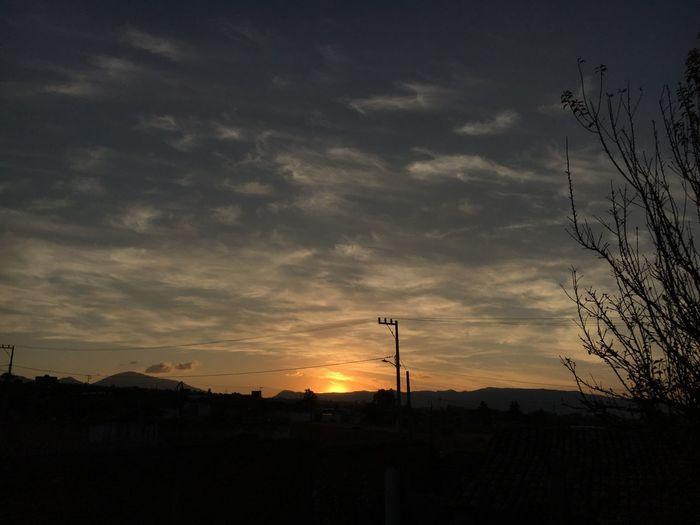 Principio y fin de las cosas Sunset Atardecer Sunset Silhouette Sky Cloud - Sky Nature Beauty In Nature No People Scenics Tranquil Scene Tranquility Tree