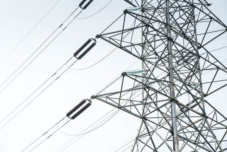 Transmission Tower Power Line Pylon Electricity Busbar Circuit Conductor Electricity  Infrastructure Insulator Lattice Power Pylon Steel Substation Tower Transformer Transmission