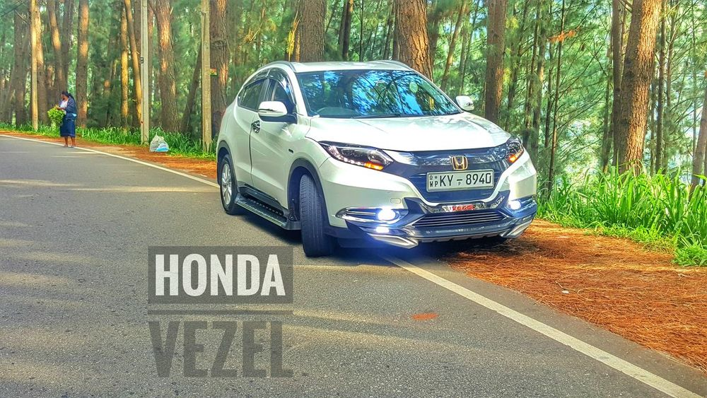 Honda Vezel Sri Lanka Hillside Nature